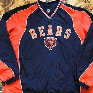 Chicago Bears NFL windbreak Sz L